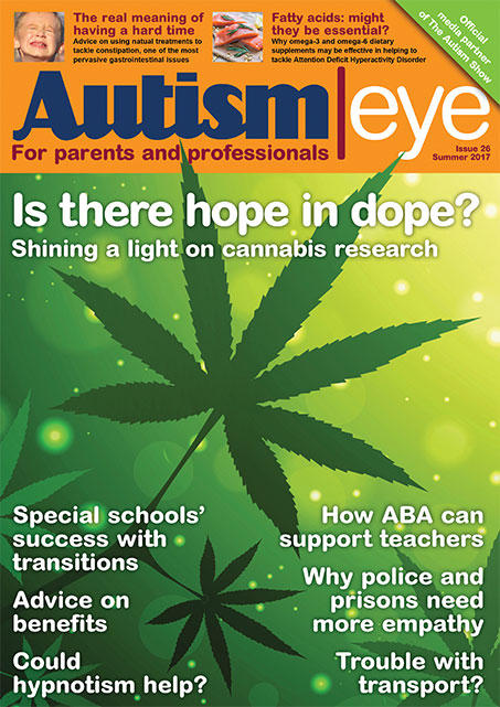 Autism Eye - Back issues