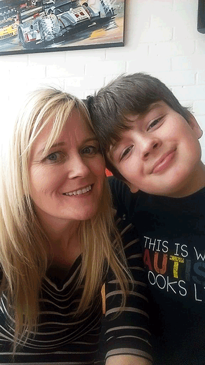 The mother of a boy with autism is fighting to stop plans for more than £20m in cuts to special needs services in Surrey