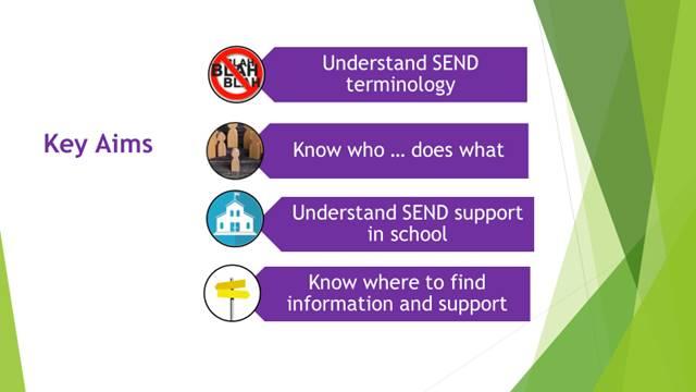 Demystifying SEND aims