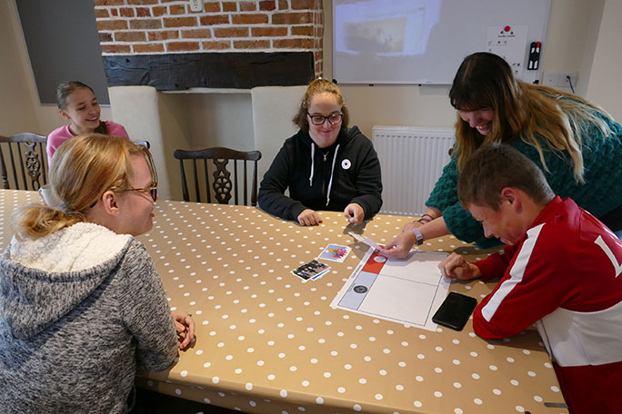 Students at Fairfield Farm College have returned after the summer break to a brand new Independent Living Centre.