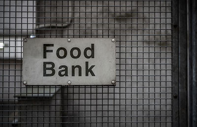 Carers are turning to food banks as they struggle for work and support during the pandemic.