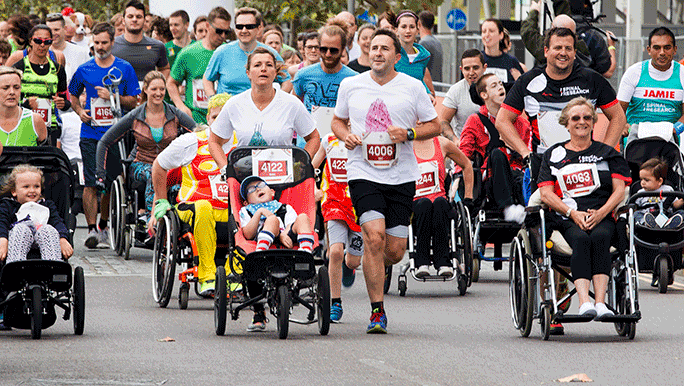 Parallel London 2017 is a fully accessible fun run and free family festival at Queen Elizabeth Olympic Park on Sunday 3 September 2017.