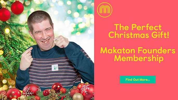 Makaton is a language programme that combines signs, symbols and speech to provide multiple ways for someone to communicate.