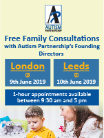 Autism Partnership free family consultations
