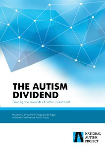 Autism costs £32bn - but research is weak. National Autism Project report, The Autism Dividend