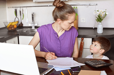 Women with autistic children are more likely to give up work in the first five years after birth, a new study has found.