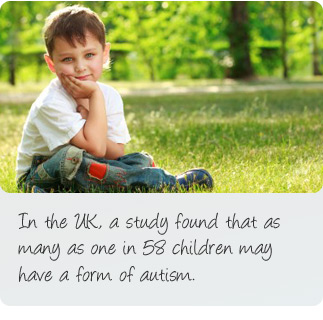 What is autism? In the UK, a study found that as many as one in 58 children may have a form of autism.